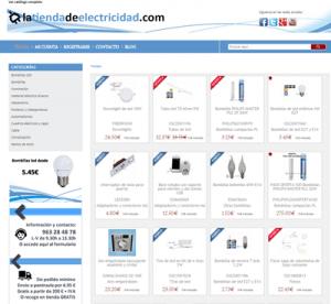 tienda de electricidad online
